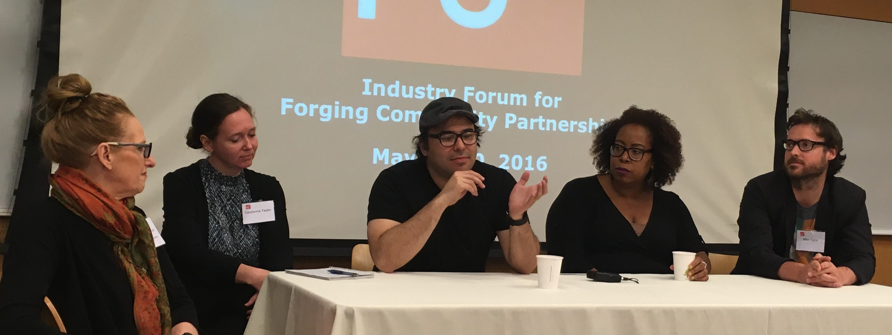 Industry Forum for Forging Community Partnerships
