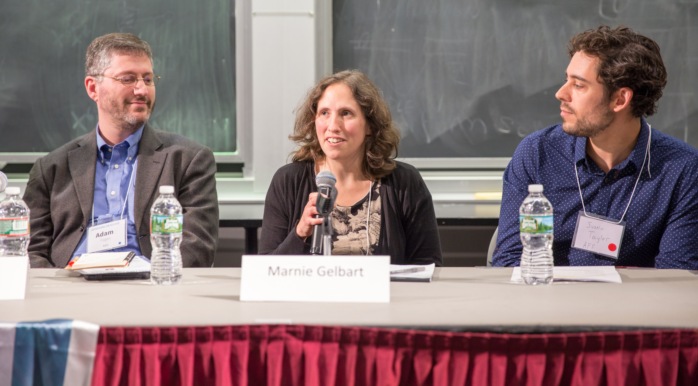 Future of Science panel (Cambridge, MA)